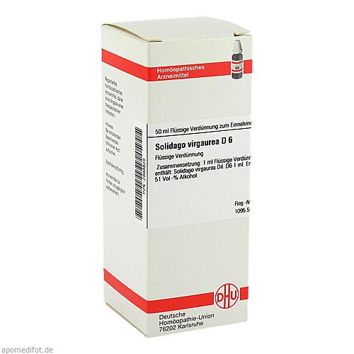 SOLIDAGO VIRGA D 6, 50 ML, Dhu-Arzneimittel GmbH & Co. KG
