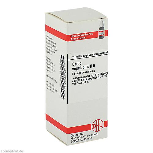 CARBO VEG D 6, 20 ML, Dhu-Arzneimittel GmbH & Co. KG