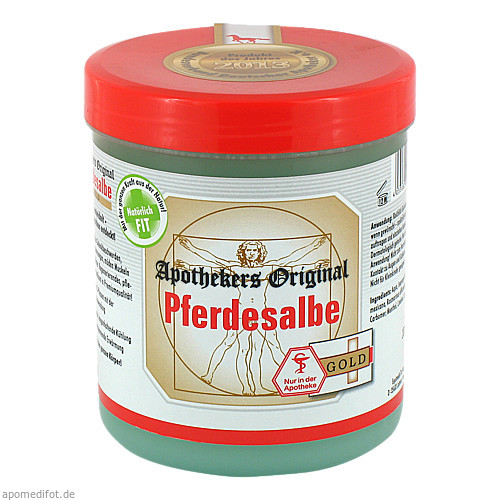 Pferdesalbe Apothekers Original Gold, 600 ML, Equimedis Dr. Jacoby GmbH & Co. KG