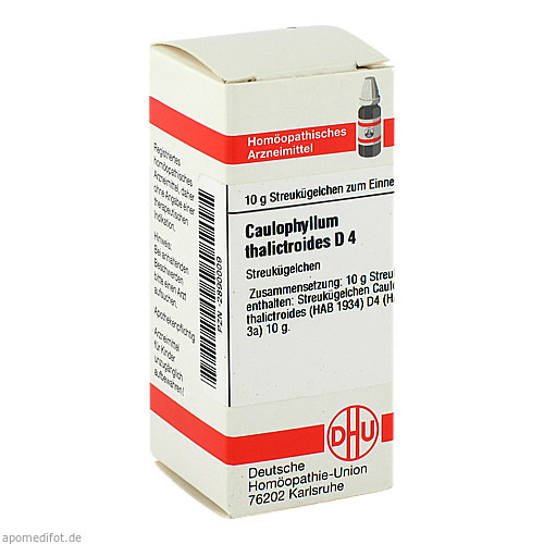 CAULOPHYLLUM THA D 4, 10 G, Dhu-Arzneimittel GmbH & Co. KG