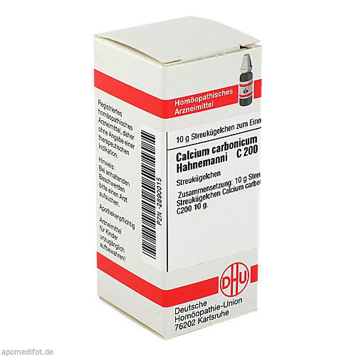 CALCIUM CARB HAHNEM C200, 10 G, Dhu-Arzneimittel GmbH & Co. KG