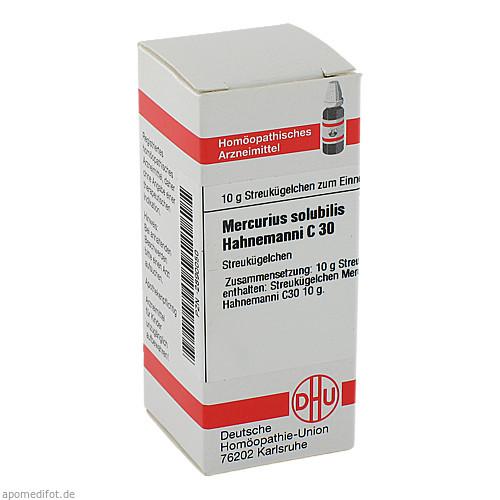 MERCURIUS SOLUB HAHNEM C30, 10 G, Dhu-Arzneimittel GmbH & Co. KG