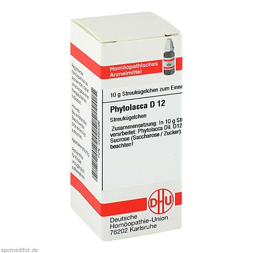 PHYTOLACCA D12, 10 G, Dhu-Arzneimittel GmbH & Co. KG
