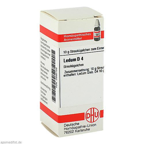 LEDUM D 4, 10 G, Dhu-Arzneimittel GmbH & Co. KG