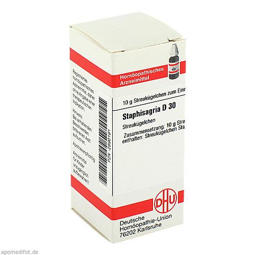 STAPHISAGRIA D30, 10 G, Dhu-Arzneimittel GmbH & Co. KG