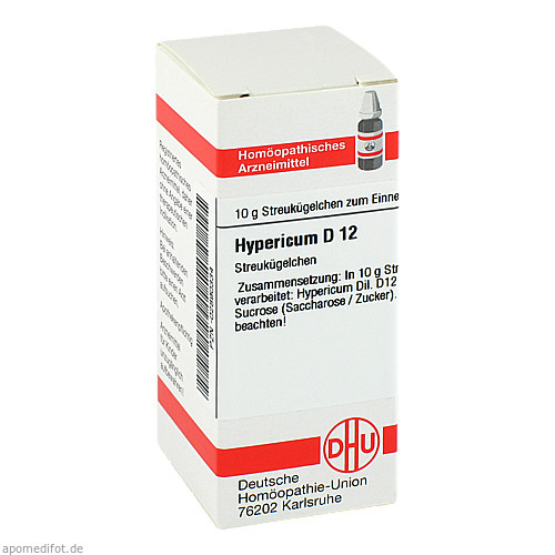 HYPERICUM D12, 10 G, Dhu-Arzneimittel GmbH & Co. KG