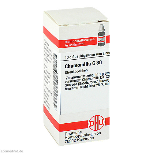 CHAMOMILLA C30, 10 G, Dhu-Arzneimittel GmbH & Co. KG