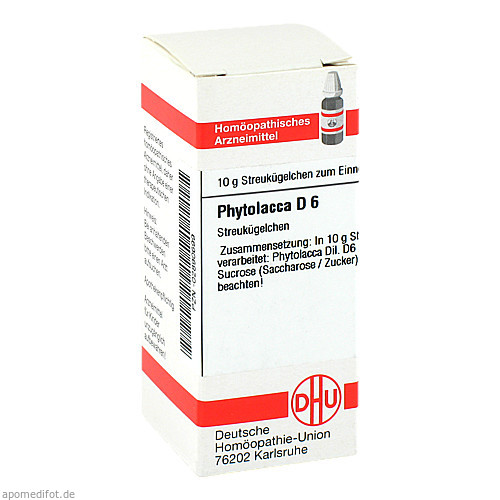 PHYTOLACCA D 6, 10 G, Dhu-Arzneimittel GmbH & Co. KG