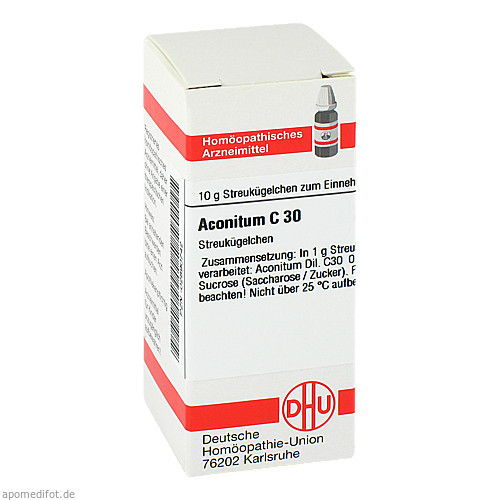 ACONITUM C30, 10 G, Dhu-Arzneimittel GmbH & Co. KG