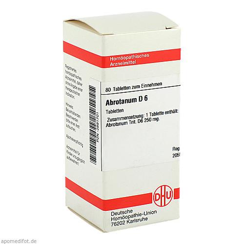 ABROTANUM D 6, 80 ST, Dhu-Arzneimittel GmbH & Co. KG