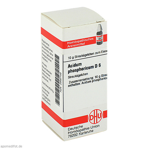 ACIDUM PHOS D 6, 10 G, Dhu-Arzneimittel GmbH & Co. KG