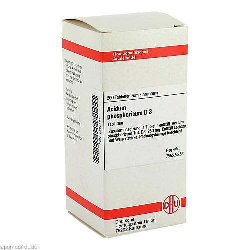 ACIDUM PHOS D 3, 200 ST, Dhu-Arzneimittel GmbH & Co. KG