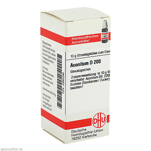 ACONITUM D200, 10 G, Dhu-Arzneimittel GmbH & Co. KG