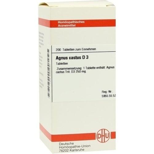 AGNUS CASTUS D 3, 200 ST, Dhu-Arzneimittel GmbH & Co. KG