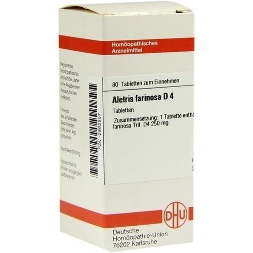 ALETRIS FARINOSA D 4, 80 ST, Dhu-Arzneimittel GmbH & Co. KG