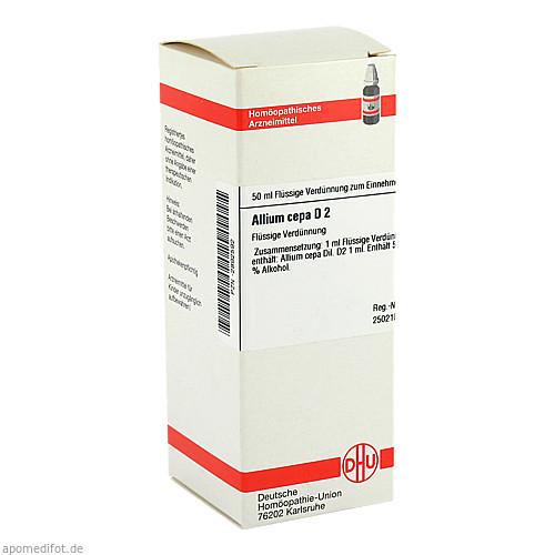 ALLIUM CEPA D 2, 50 ML, Dhu-Arzneimittel GmbH & Co. KG