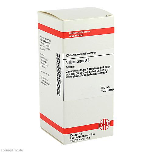 ALLIUM CEPA D 6, 200 ST, Dhu-Arzneimittel GmbH & Co. KG