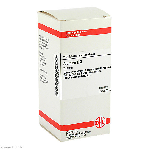 ALUMINA D 3, 200 ST, Dhu-Arzneimittel GmbH & Co. KG