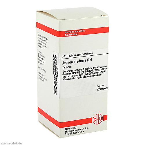 ARANEA DIADEMA D 4, 200 ST, Dhu-Arzneimittel GmbH & Co. KG