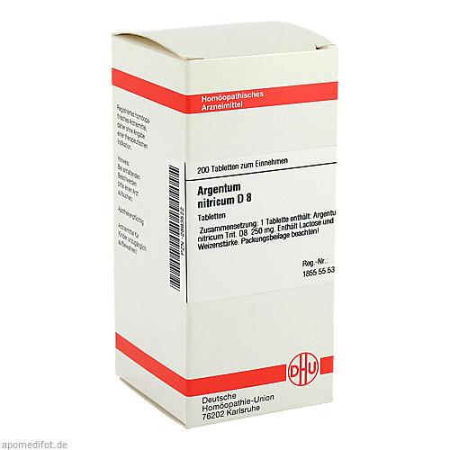 ARGENTUM NITR D 8, 200 ST, Dhu-Arzneimittel GmbH & Co. KG