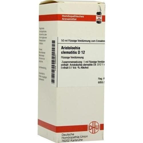 ARISTOLOCHIA CLEM D12, 50 ML, Dhu-Arzneimittel GmbH & Co. KG
