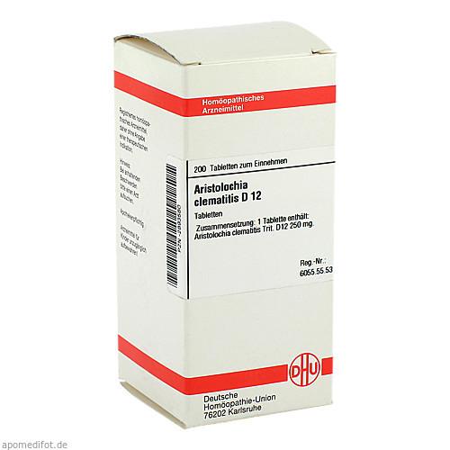 ARISTOLOCHIA CLEM D12, 200 ST, Dhu-Arzneimittel GmbH & Co. KG