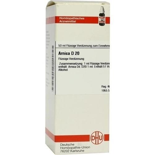 ARNICA D20, 50 ML, Dhu-Arzneimittel GmbH & Co. KG