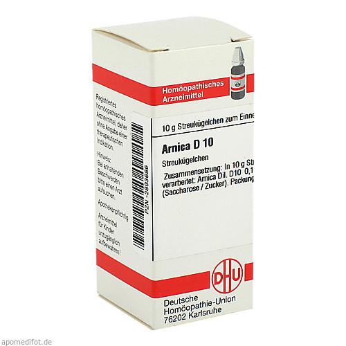 ARNICA D10, 10 G, Dhu-Arzneimittel GmbH & Co. KG