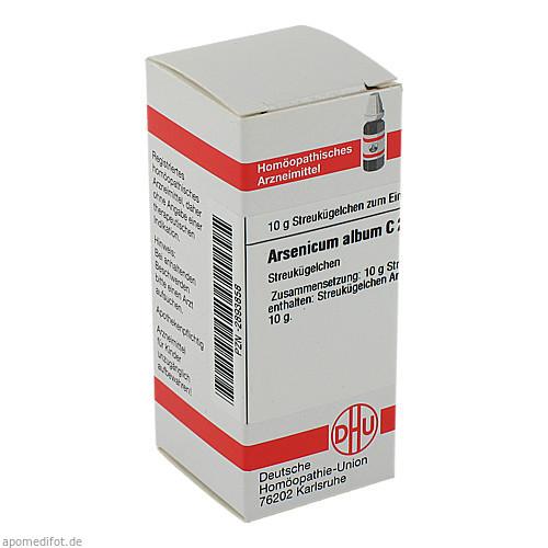 ARSENICUM ALB C200, 10 G, Dhu-Arzneimittel GmbH & Co. KG