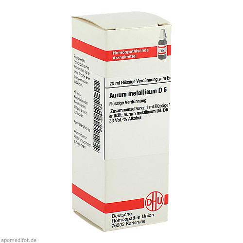 AURUM MET D 6, 20 ML, Dhu-Arzneimittel GmbH & Co. KG