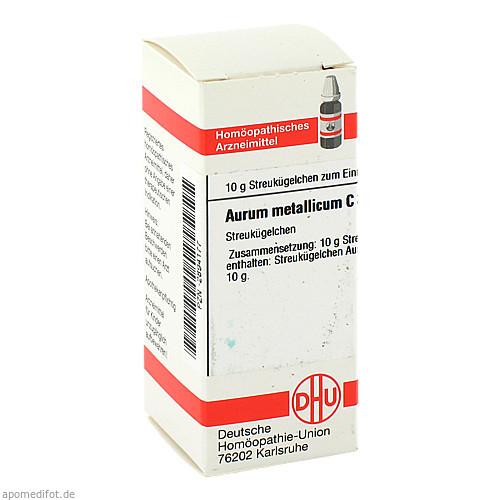 AURUM MET C 30, 10 G, Dhu-Arzneimittel GmbH & Co. KG