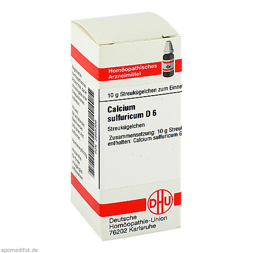 CALCIUM SULF D 6, 10 G, Dhu-Arzneimittel GmbH & Co. KG
