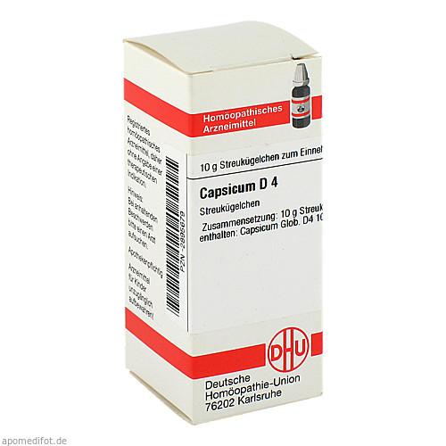 CAPSICUM D 4, 10 G, Dhu-Arzneimittel GmbH & Co. KG