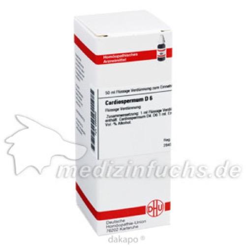 CARDIOSPERMUM D 6, 50 ML, Dhu-Arzneimittel GmbH & Co. KG