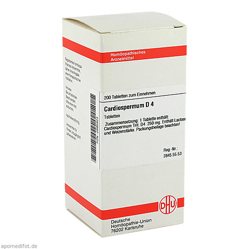CARDIOSPERMUM D 4, 200 ST, Dhu-Arzneimittel GmbH & Co. KG