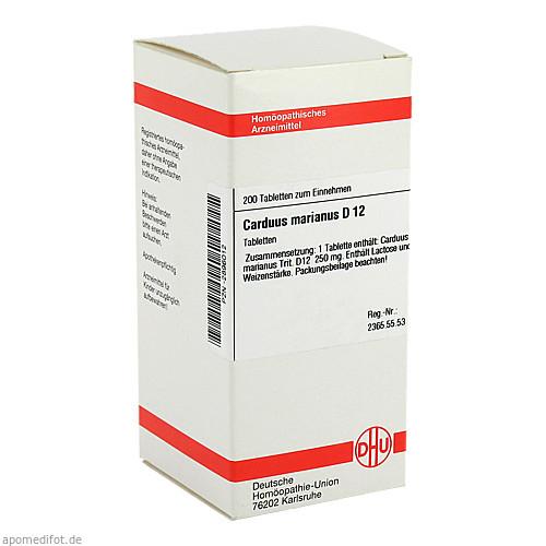 CARDUUS MAR D12, 200 ST, Dhu-Arzneimittel GmbH & Co. KG