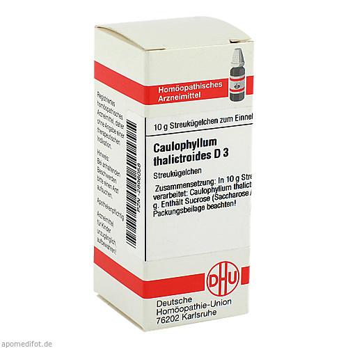 CAULOPHYLLUM THA D 3, 10 G, Dhu-Arzneimittel GmbH & Co. KG