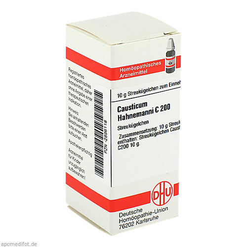 CAUSTICUM HAHNEM C200, 10 G, Dhu-Arzneimittel GmbH & Co. KG