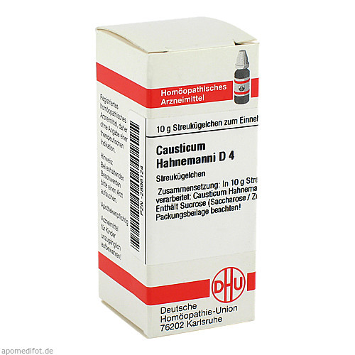 CAUSTICUM HAHNEM D 4, 10 G, Dhu-Arzneimittel GmbH & Co. KG