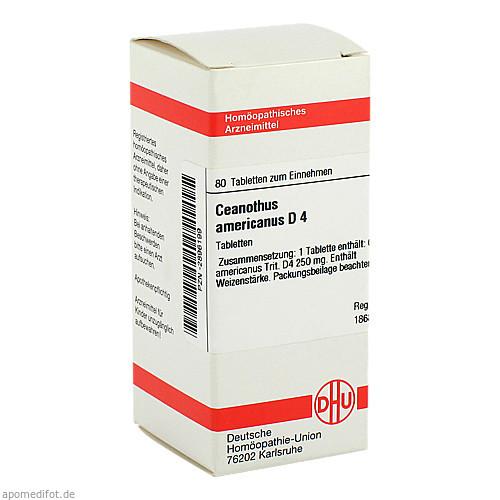 CEANOTHUS AMERICANUS D 4, 80 ST, Dhu-Arzneimittel GmbH & Co. KG