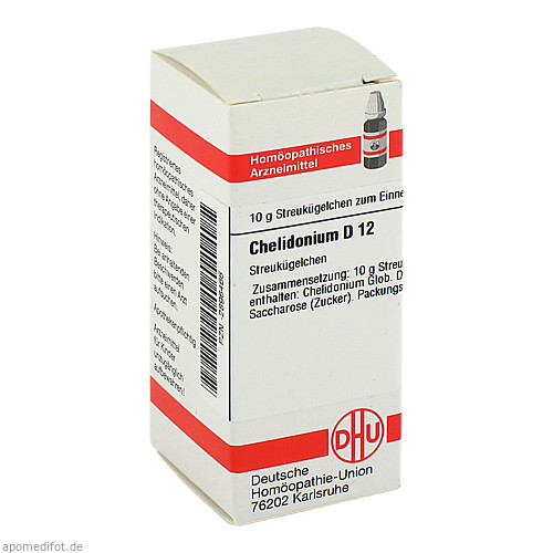 CHELIDONIUM D12, 10 G, Dhu-Arzneimittel GmbH & Co. KG