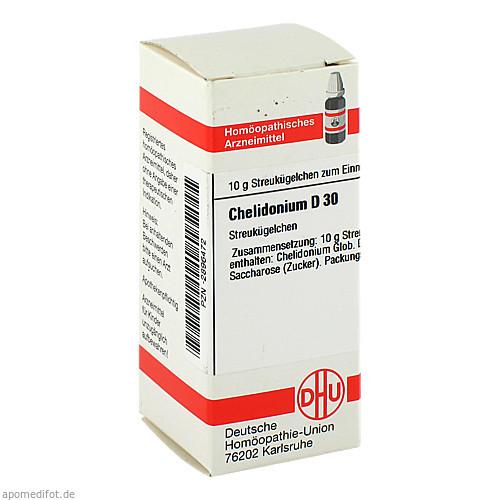 CHELIDONIUM D30, 10 G, Dhu-Arzneimittel GmbH & Co. KG