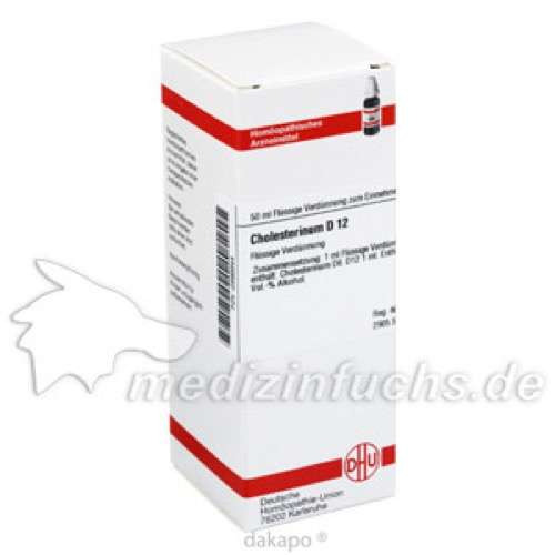 CHOLESTERINUM D12, 50 ML, Dhu-Arzneimittel GmbH & Co. KG