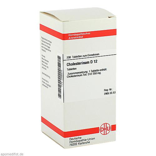 CHOLESTERINUM D12, 200 ST, Dhu-Arzneimittel GmbH & Co. KG