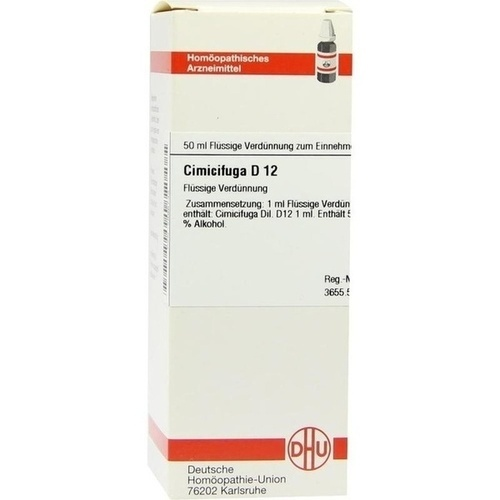 CIMICIFUGA D12, 50 ML, Dhu-Arzneimittel GmbH & Co. KG