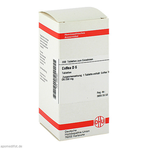 COFFEA D 6, 200 ST, Dhu-Arzneimittel GmbH & Co. KG