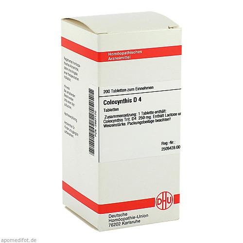 COLOCYNTHIS D 4, 200 ST, Dhu-Arzneimittel GmbH & Co. KG