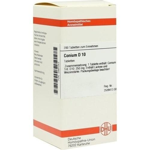 CONIUM D 10 Tabletten, 200 ST, DHU-Arzneimittel GmbH & Co. KG