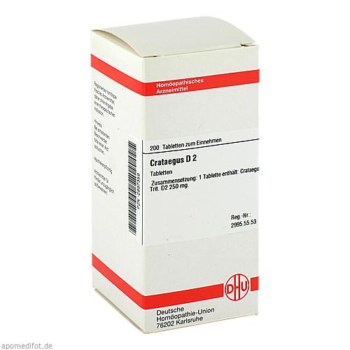 CRATAEGUS D 2, 200 ST, Dhu-Arzneimittel GmbH & Co. KG