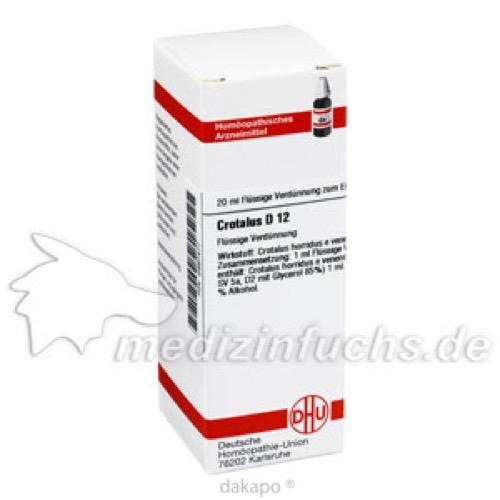 CROTALUS D12, 20 ML, Dhu-Arzneimittel GmbH & Co. KG